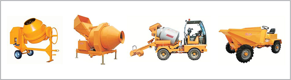 concrete mixers and dumpers