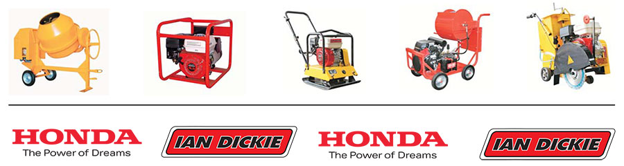 honda and ian dickie logos and products