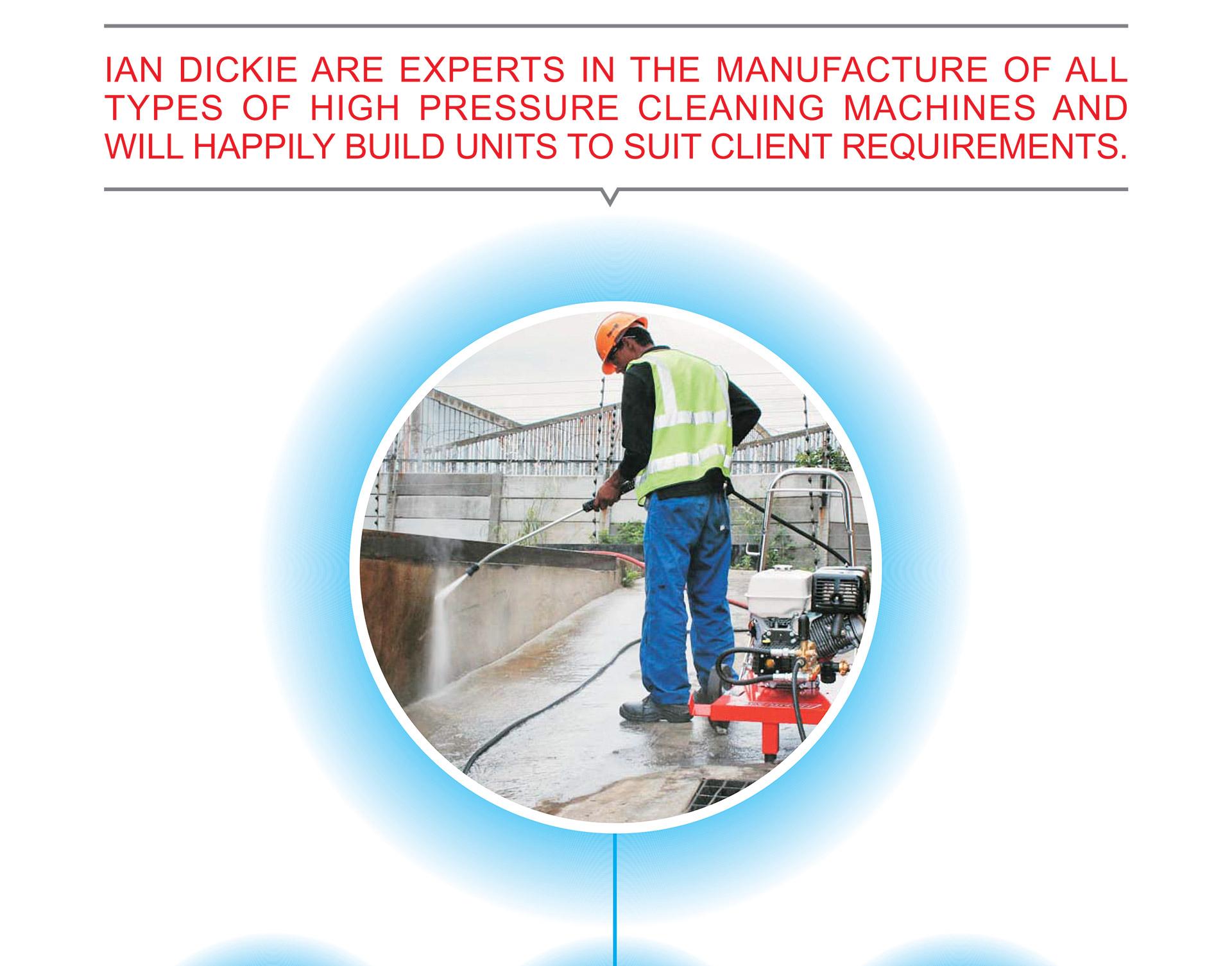 Ian Dickie's High Pressure Cleaners