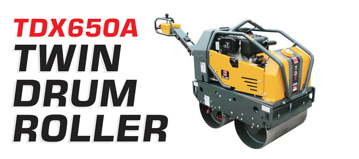 TDX650A TWIN DRUM ROLLER
